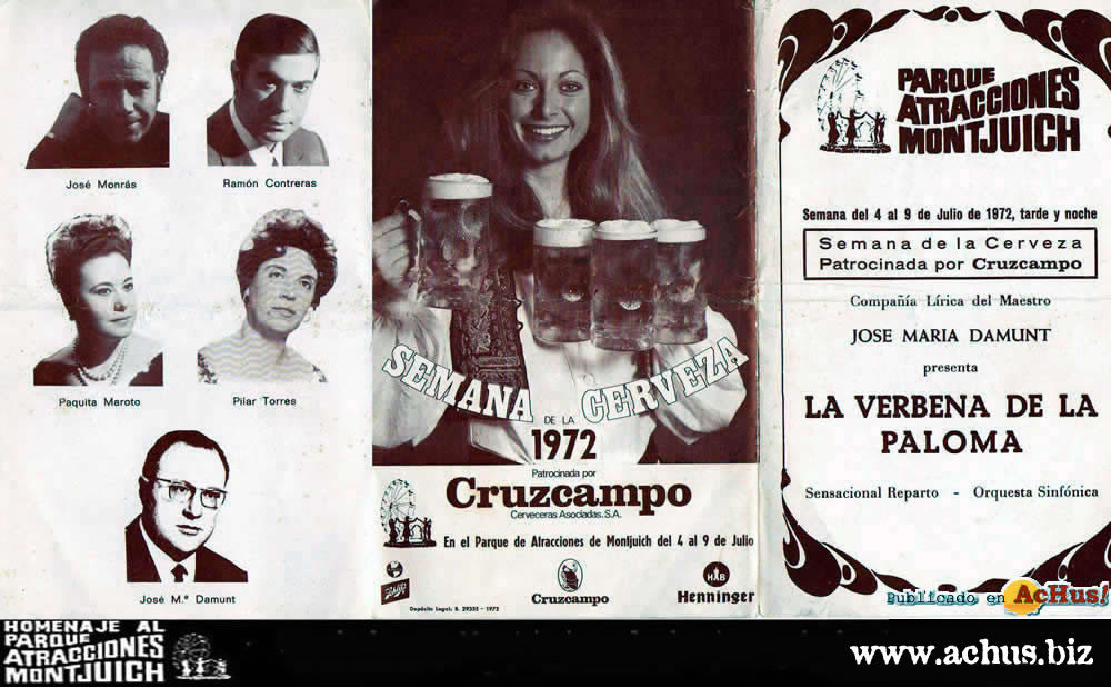 La Verbena de la Paloma y Semana de la Cerveza