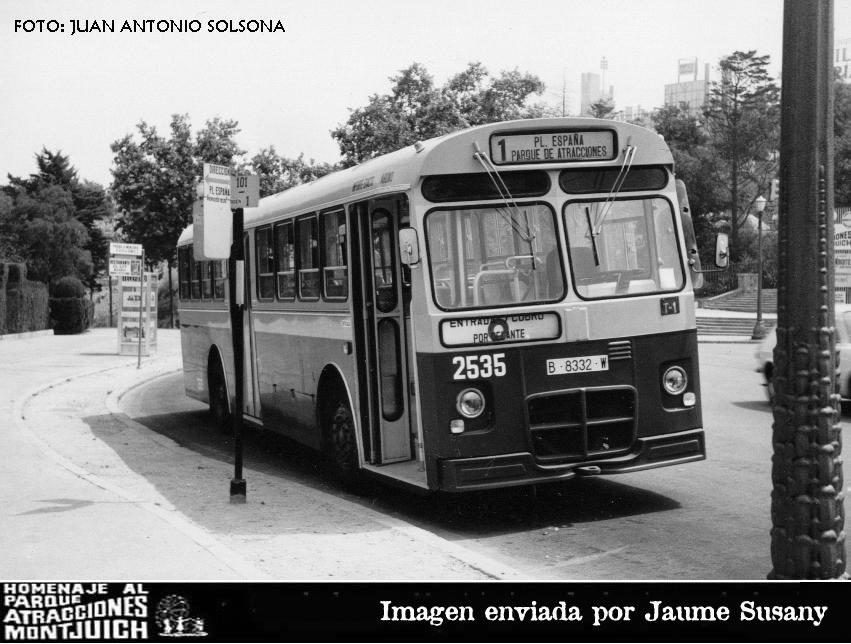 Transportes Públicos del Parque de Montjuic.