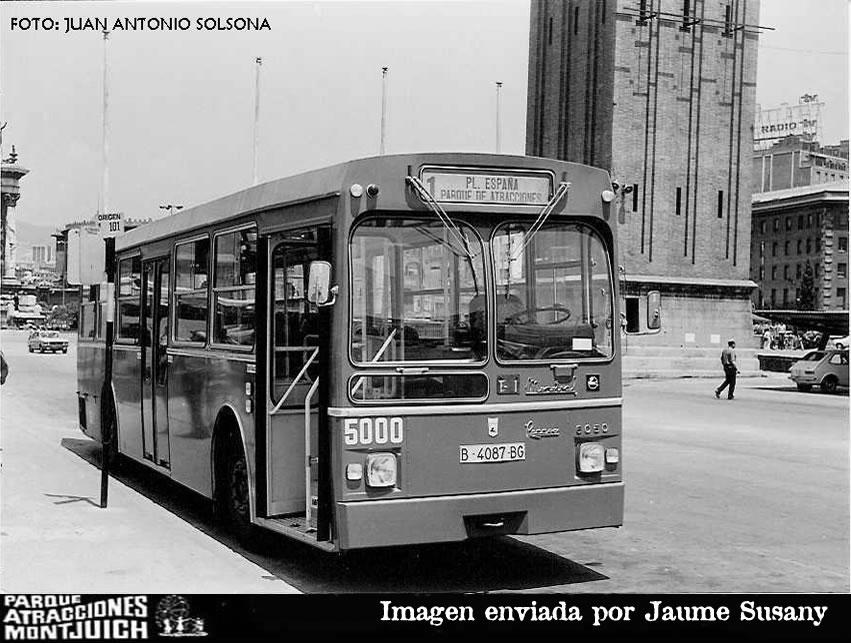 Autobuses Públicos del Parque de Montjuic.