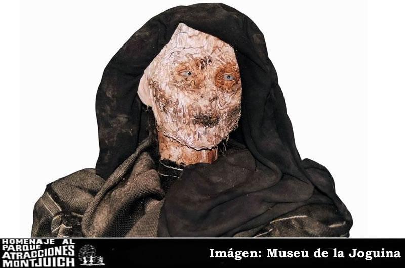 Momia del Carrer del Terror del Parque de Atracciones de Montjuic