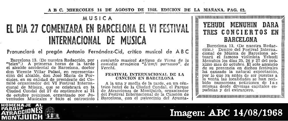 VI Festival Internacional de Música