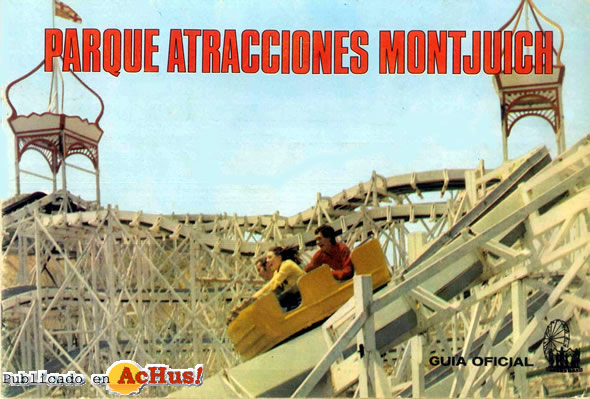 Guía oficial del parque de atracciones de Montjuich en Barcelona.