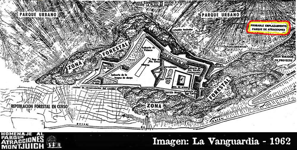 El Castillo de Montjuich y la nueva ordenación de la montaña