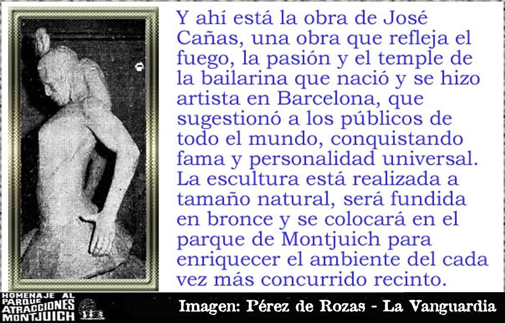 El escultor José Cañas