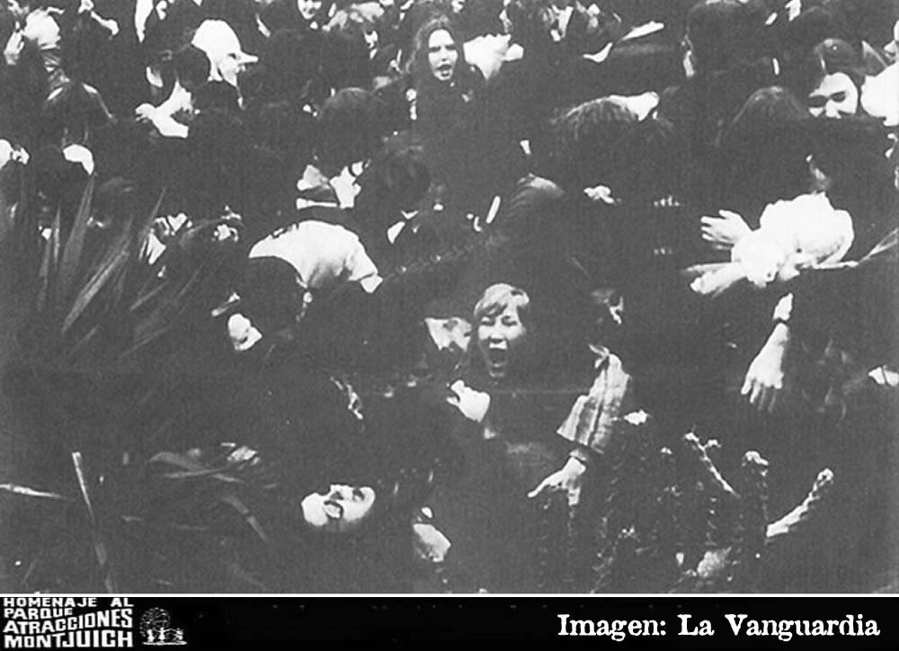 Un muerto y seis heridos por avalancha en un festival musical en Montjuic