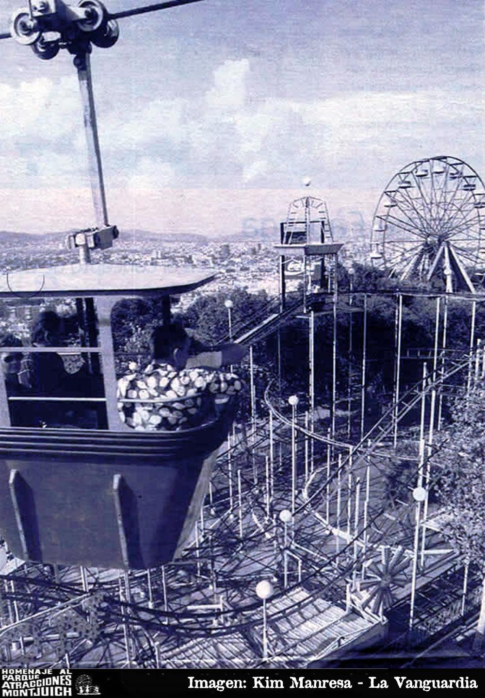 El Parque de atracciones de Montjuic cierra en un mes