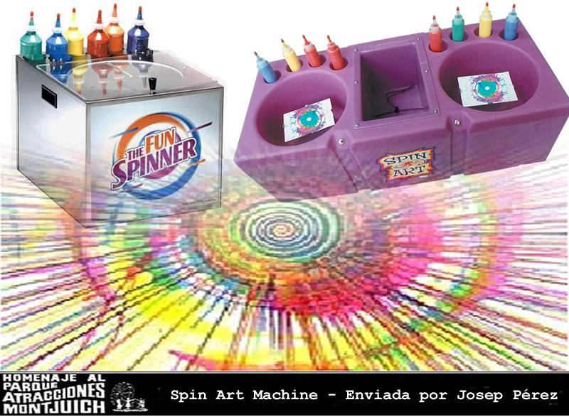 Spin-Art-Machine
