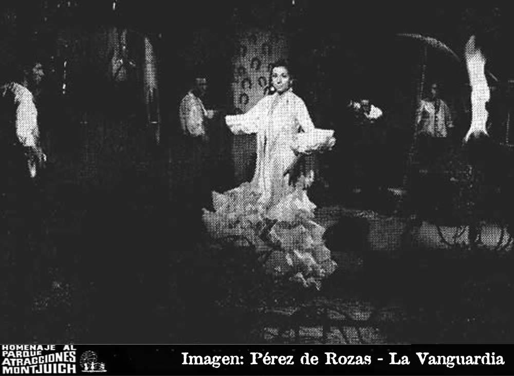 El ballet gitano de Luisa Ortega y Arturo Pavón, en Parque Atracciones de Montjuich