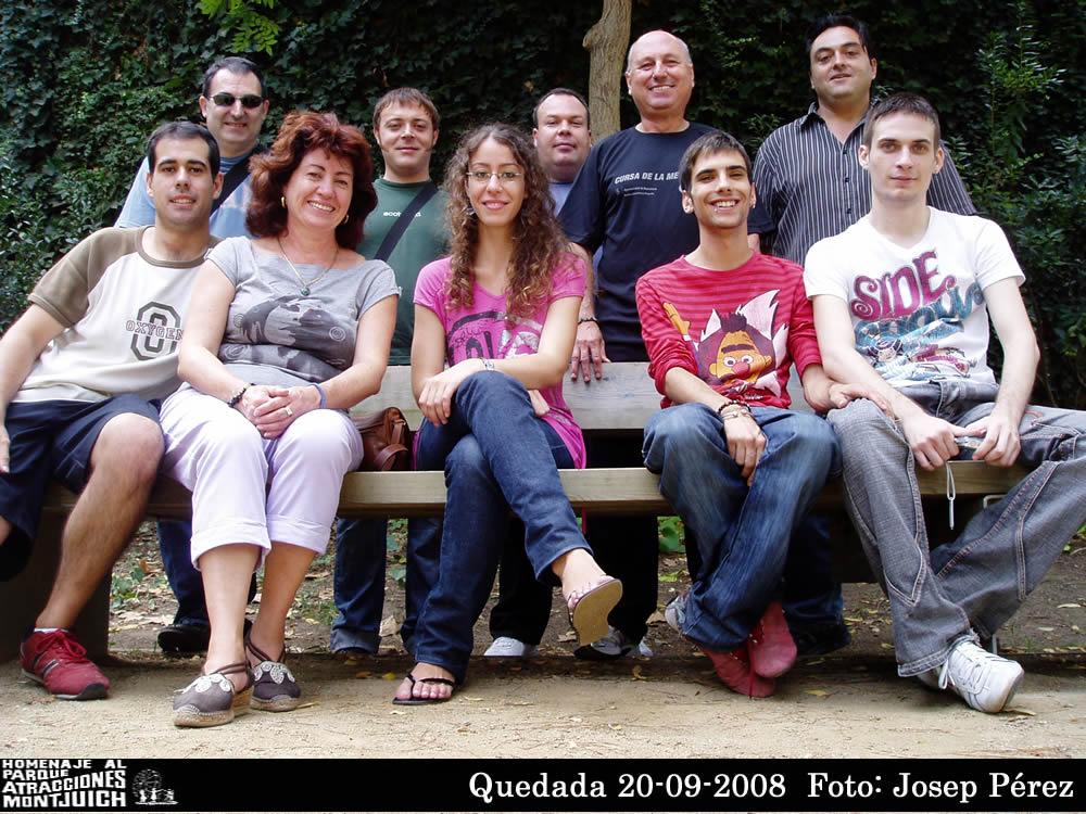 Quedada Montjuic el 20-09-2008