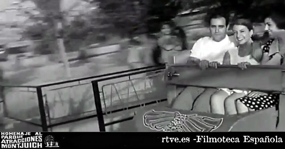 Parc d'atraccions de Montjuïc 1968