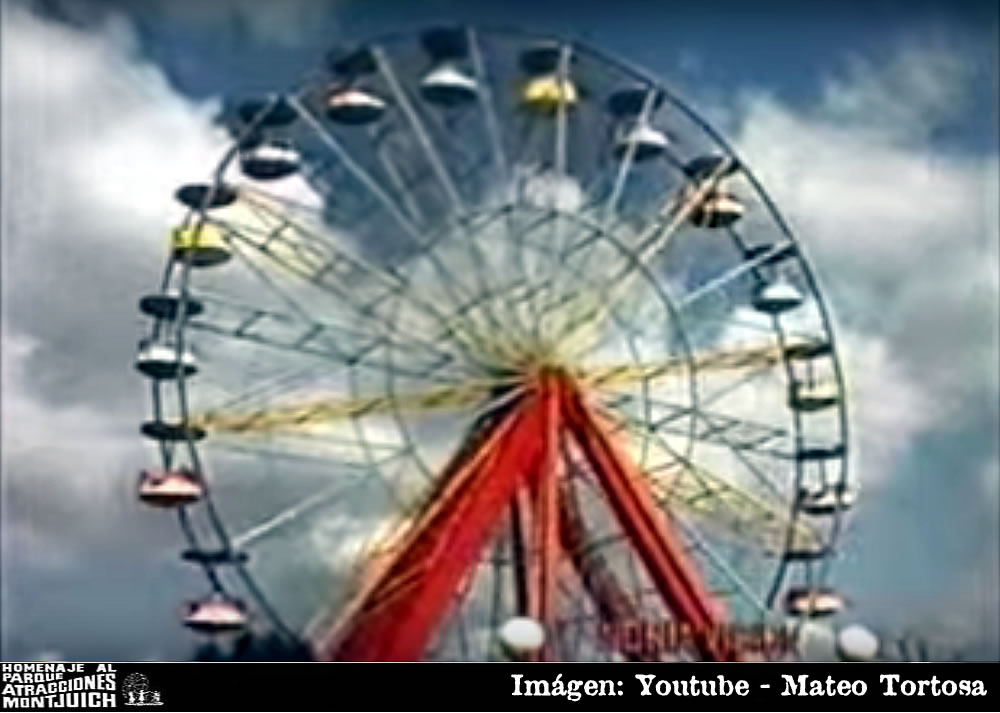 Parque de atracciones Montjuich 1974