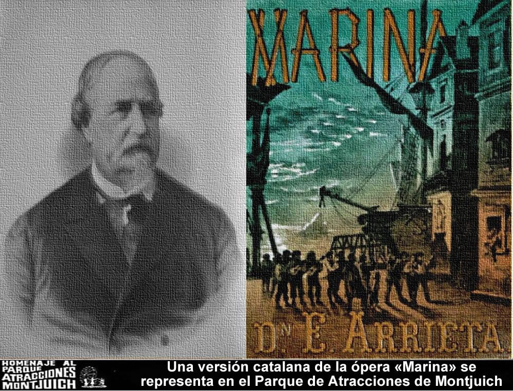 Una versión catalana de la ópera Marina se representa en el Parque de Atracciones de Montjuich