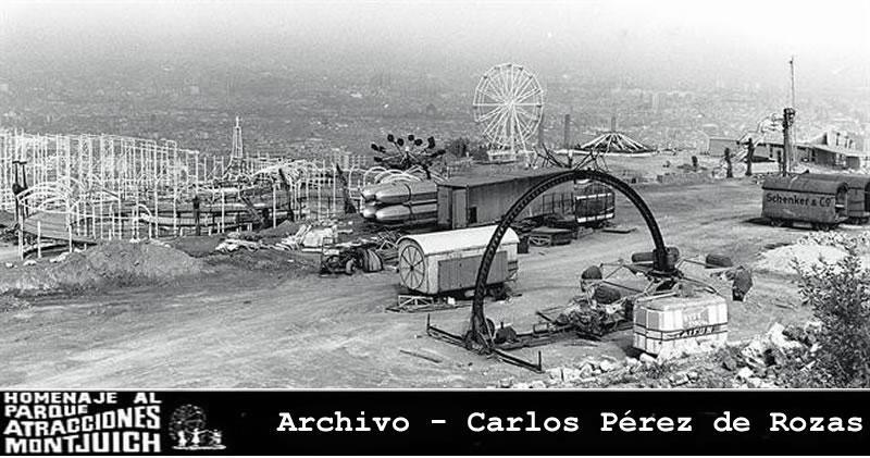 Parque-de-atracciones-de-Montjuic-en-construccion