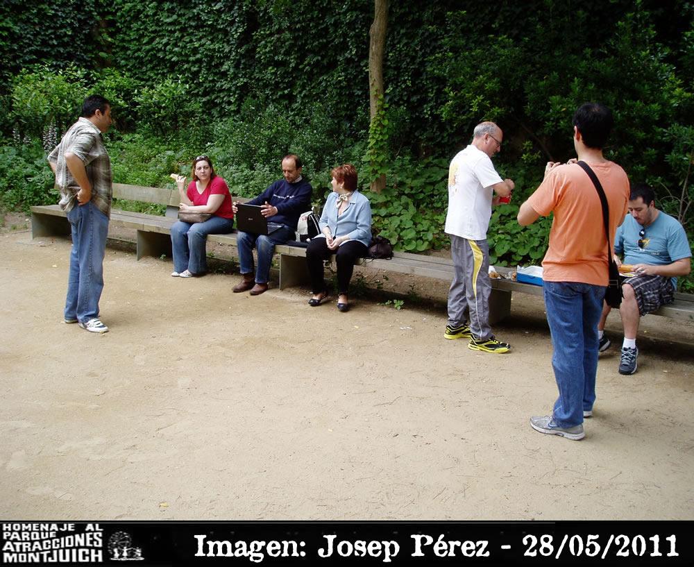 La hora de los francfurts quedada Montjuic el 28-05-2011