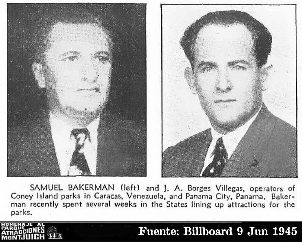 Samuel Bakerman y J.A. Borges Villegas