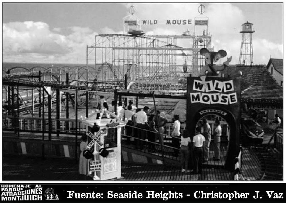 Wild Mouse, Loco Ratón (1966-1972)
