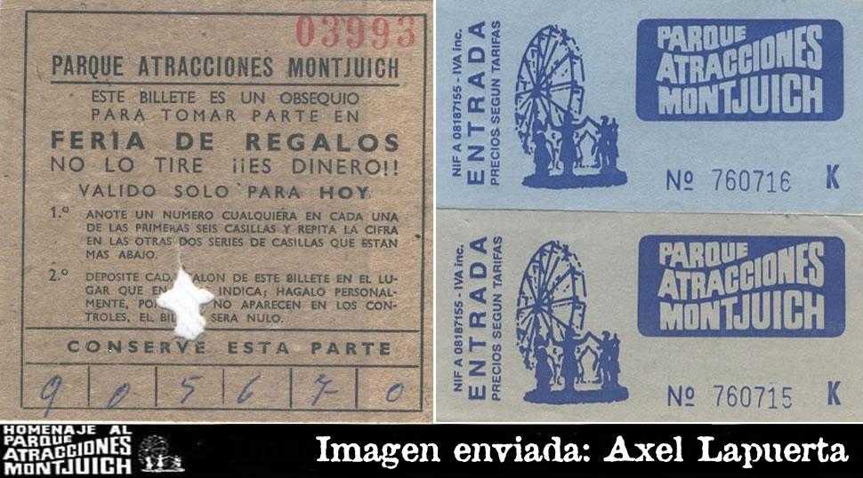 Entradas y tickets del Parque de Atracciones de Montjuic