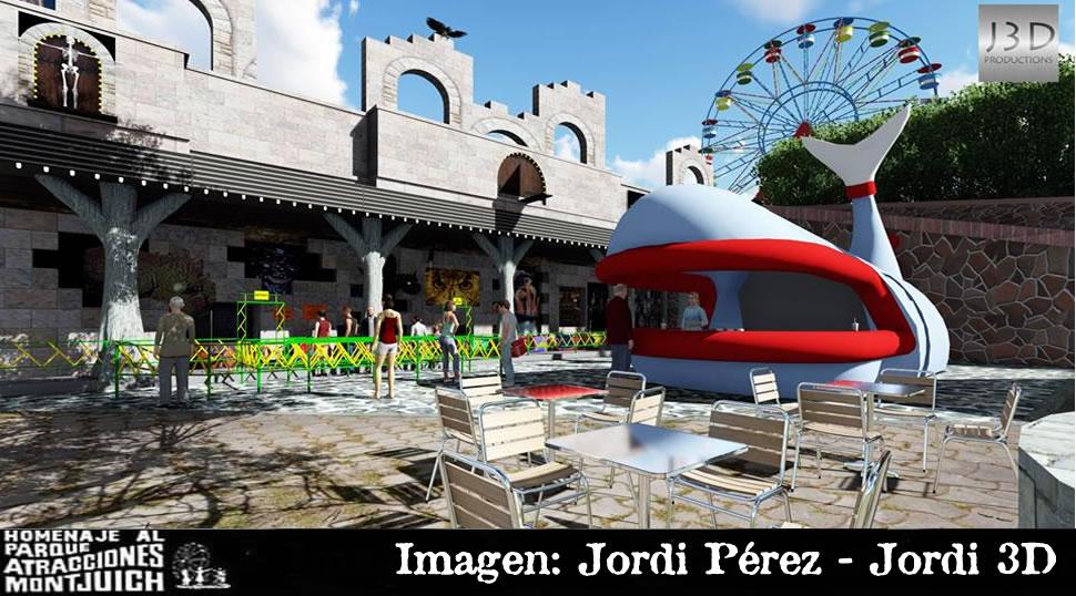 Tren Fantasma y la ballena, 21 años sin el Parque de Atracciones de Montjuic.