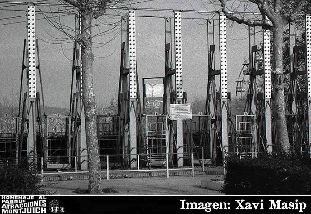 Las Jaulas del parque de atracciones de Montjuic