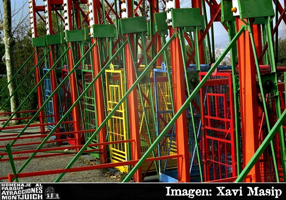 Las Jaulas del parque de atracciones de Montjuic (1966.1998)