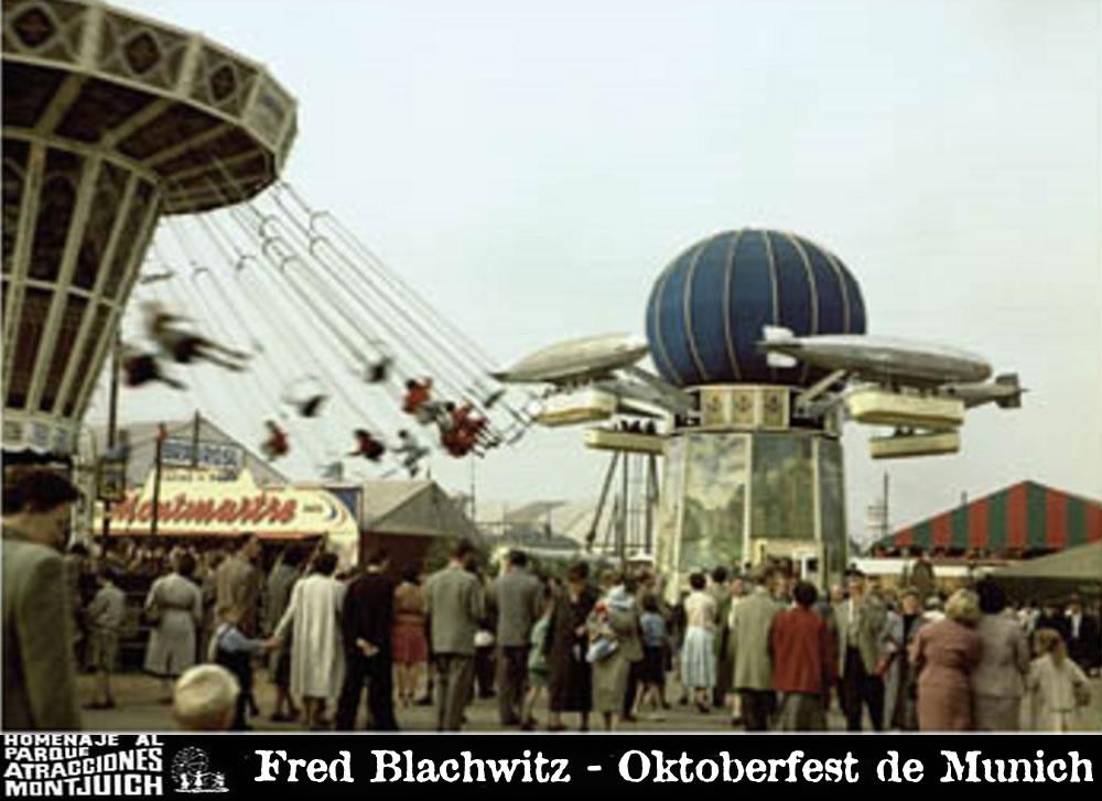 El Zepelín en Oktoberfest de Munich