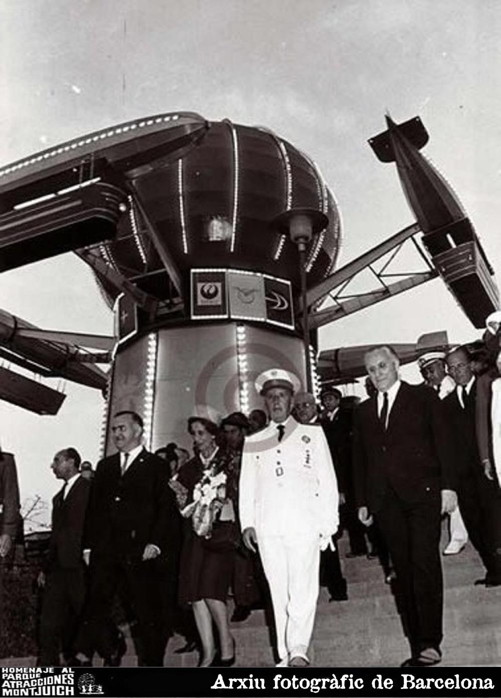 Inauguración del parque en 1966