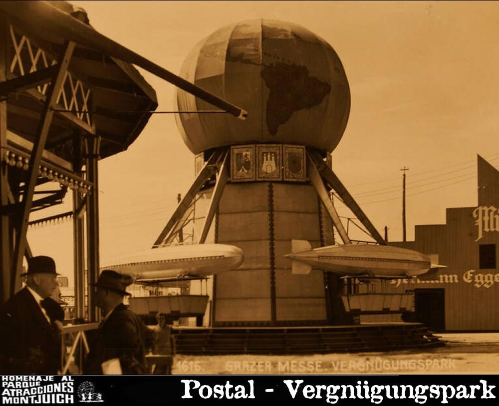 El Zepelín que estuvo funcionando en Hannover