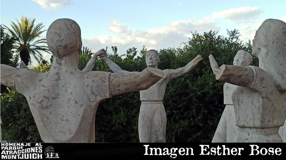 Monumento a La Sardana mutilado por unos vándalos