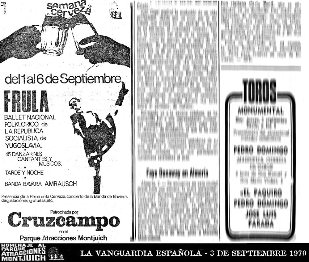 Cartel Frula Ballet de Yugoslavia