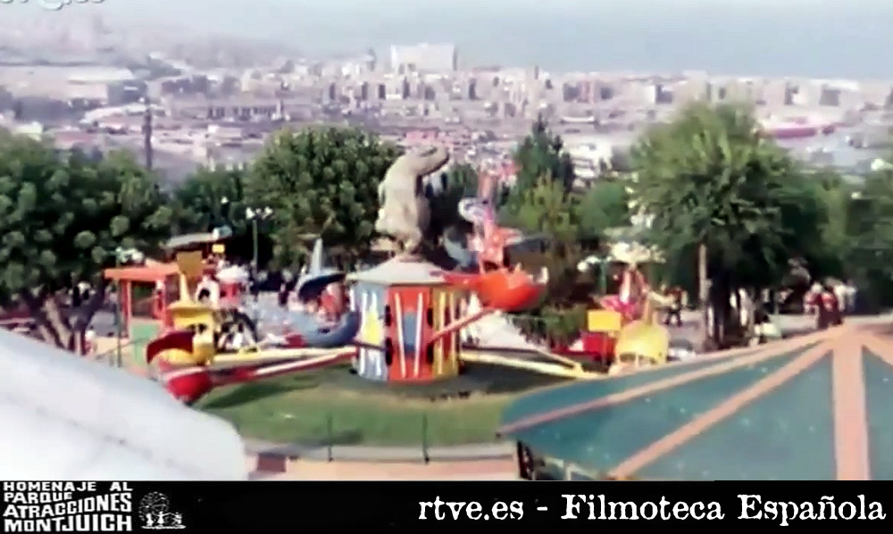 Parque de Atracciones de Montjuic 1977