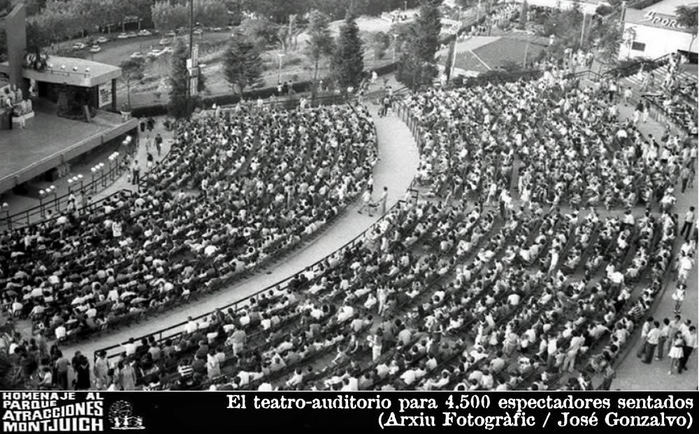 El teatro-auditorio para 4.500 espectadores sentados