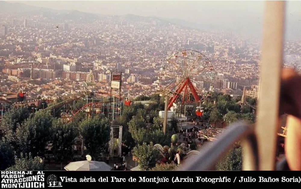 El desaparecido Parque de Atracciones de Montjuïc enseña las entrañas